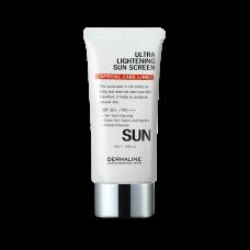 Солнцезащитный крем Dermaline Ultra Lightening Sun Screen SPF 50+/PA+++, 50 мл