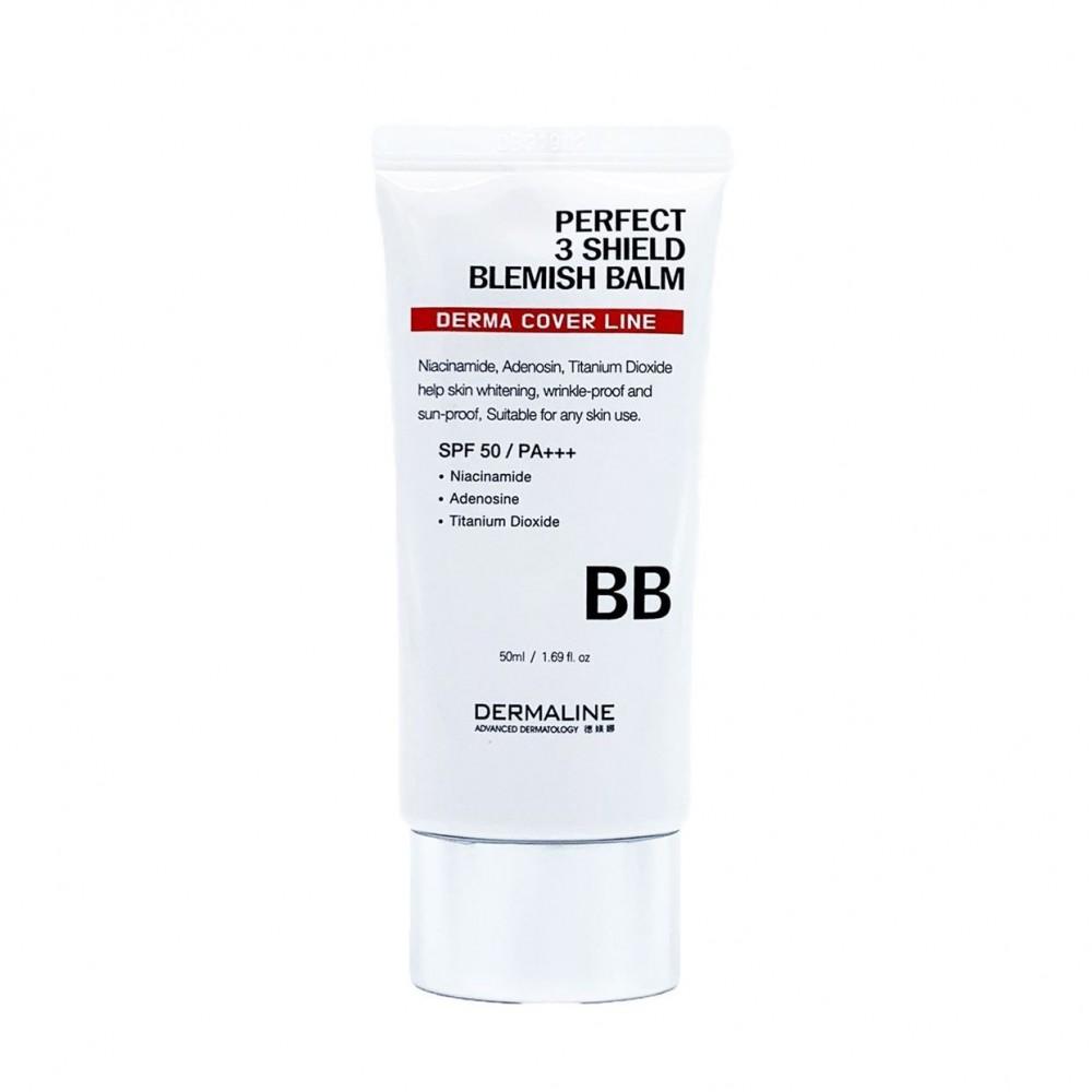 ВВ-крем DermaLine Perfect 3 Sheld Blemish Balm SPF 50 /PA+++