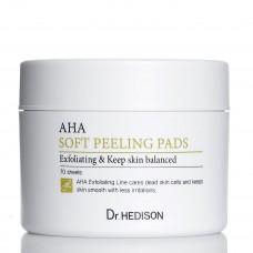 Пилинг-диски с AHA-кислотами Dr.Hedison AHA Soft Peeling Pads, 70 шт
