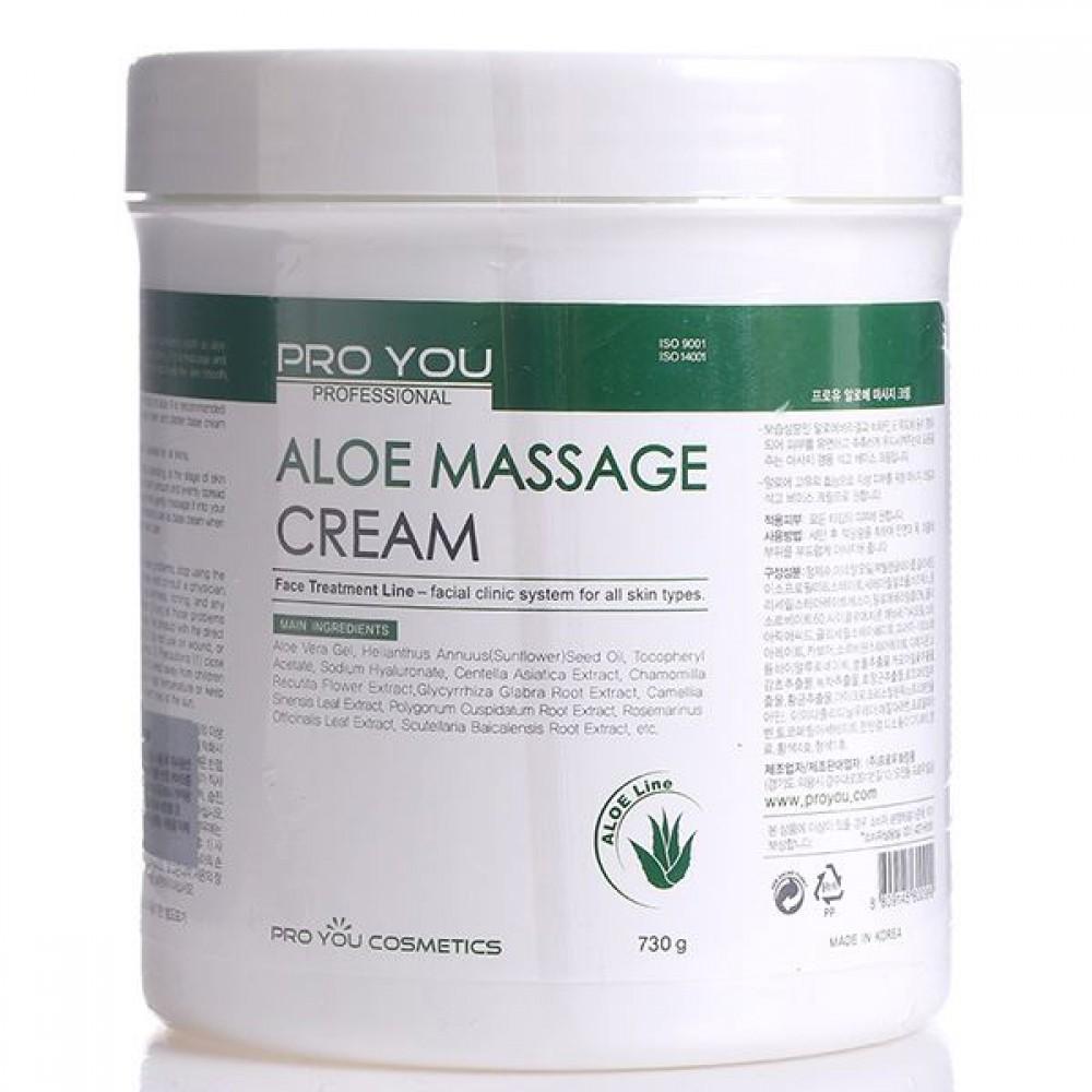 Массажный крем с алоэ Pro You Aloe Massage Cream, 730 г