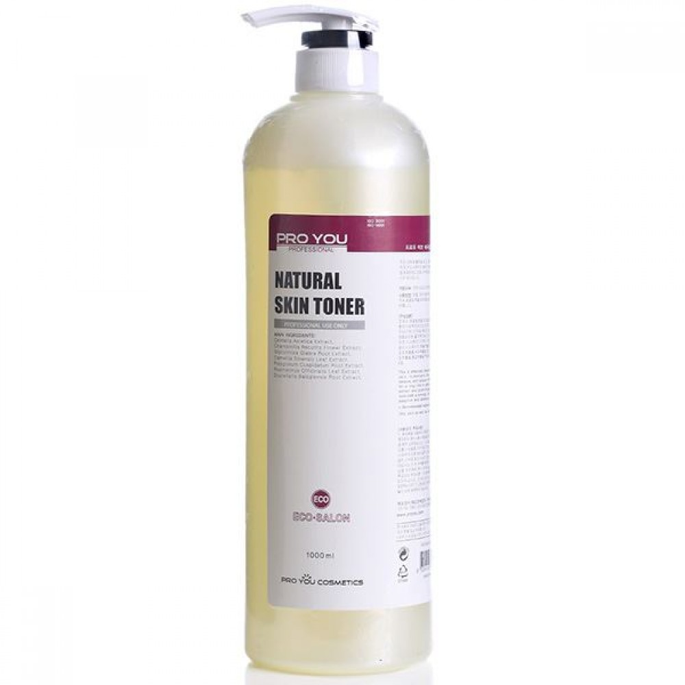 Натуральный тоник для лица Pro You Eco Natural Skin Toner, 1000 мл