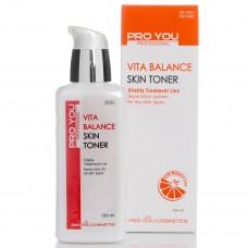 Тоник для обезвоженной кожи лица с витаминами Vita Balance Skin Toner