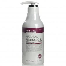Профессиональный натуральный гелевый пилинг Eco Natural Peeling Gel, 500 мл
