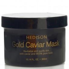Крем-маска для лица Dr.Hedison Gold Caviar Mask с коллоидным золотом, 300 мл