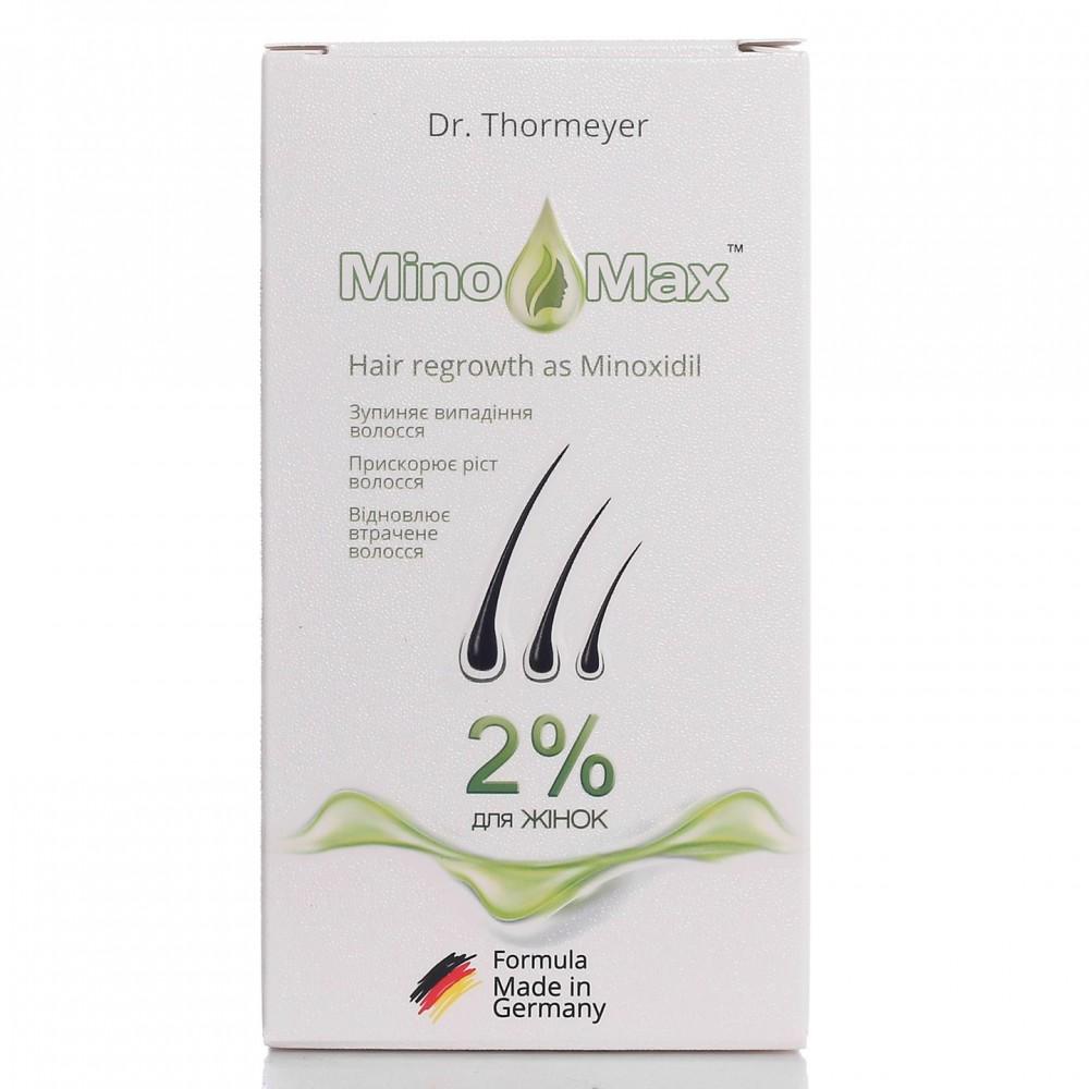 Лосьон MinoMax 2% для восстановление и роста волос у женщин