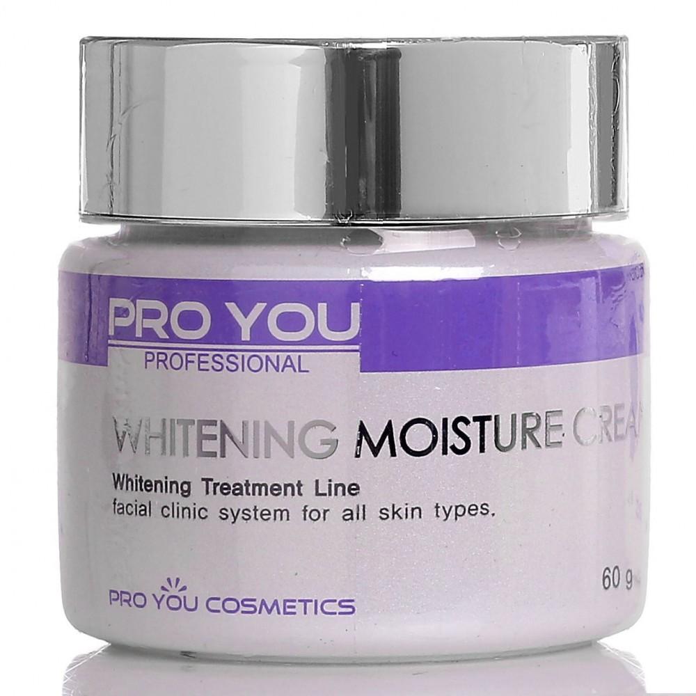 Увлажняющий крем для лица с отбеливающим эффектом Pro You Whitening Moisture Cream