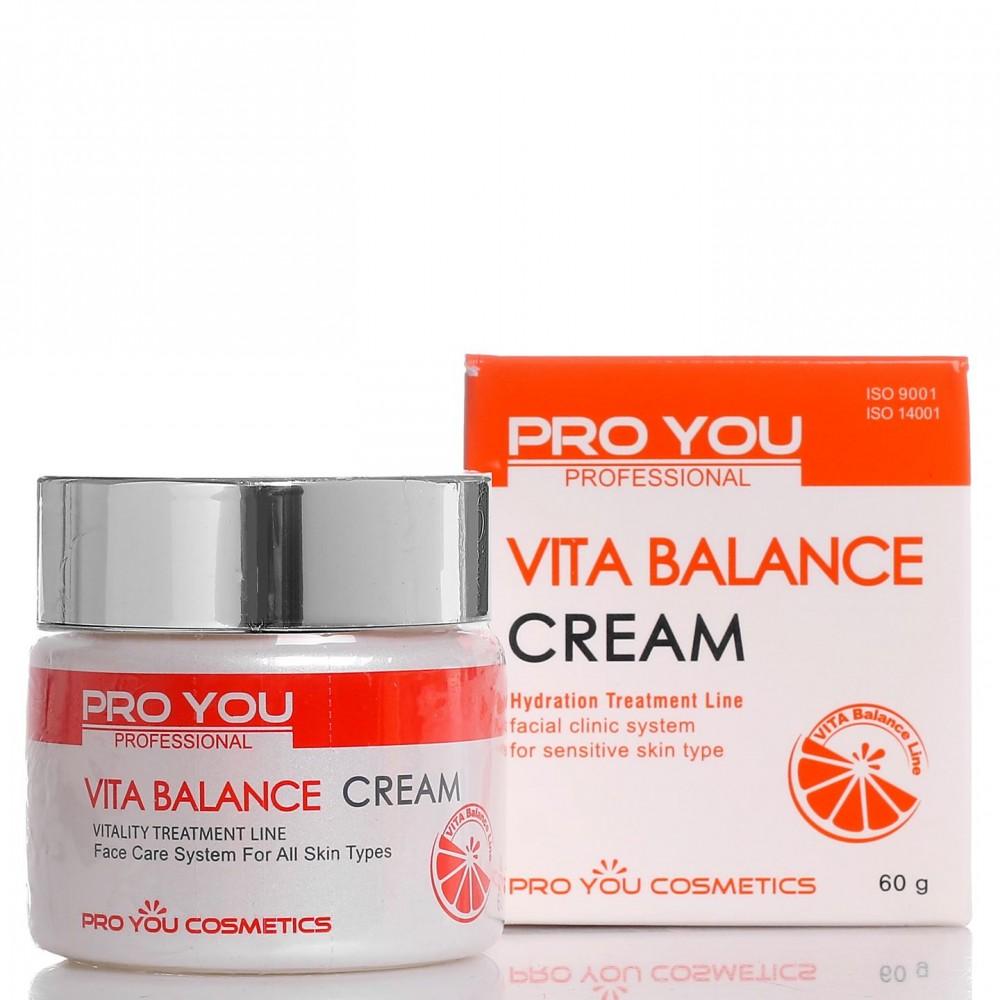 Крем для обезвоженной кожи лица с витаминами Vita Balance Cream