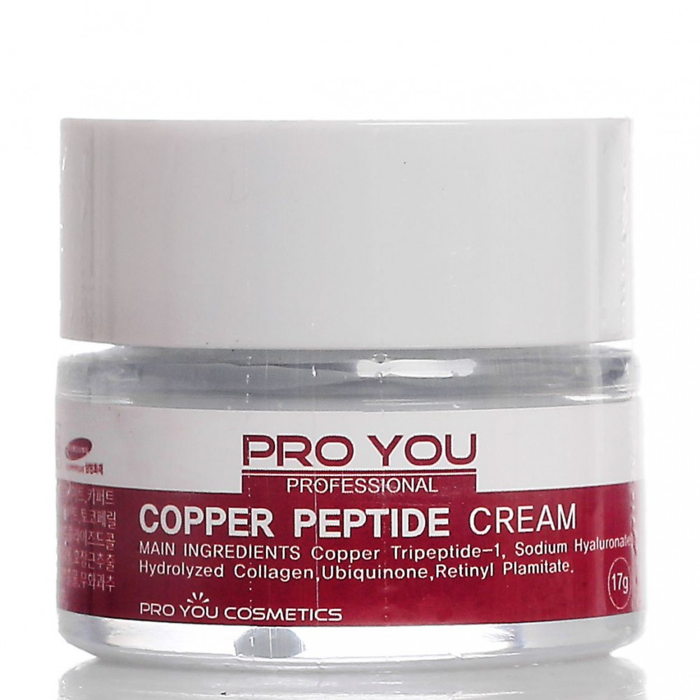Крем с пептидом меди против морщин Pro You Copper Peptide Cream