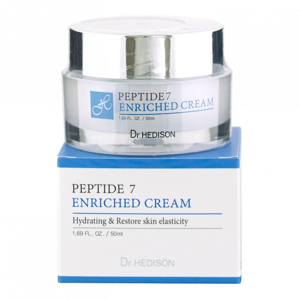 Крем 7 пептидов Dr.Hedison Peptide 7 Cream для возрастной кожи